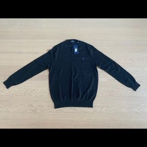 NWT Ralph Lauren polo v-neck sweater
